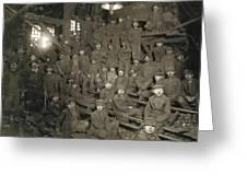 Hine Breaker Boys, 1911 Greeting Card