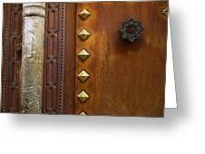 Historic Door Greeting Card