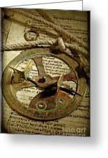 .historical Navigation Greeting Card