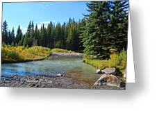 Horse Creek Greeting Card