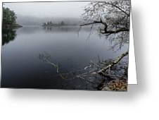 Hosmer Pond In Camden Maine Greeting Card