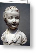Houdon's Alexandre Brongniart Greeting Card