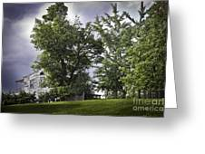 House On The Hill 3 Greeting Card