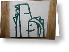 Hugs - Tile Greeting Card