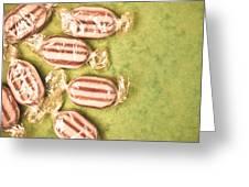 Humbug Sweets  Greeting Card by Tom Gowanlock
