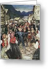 Ibsen: Peer Gynt Greeting Card