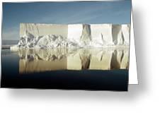 Iceberg Ross Sea Antarctica Greeting Card
