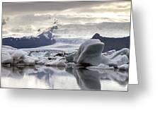 iceland Jokulsarlon Greeting Card