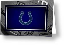 Indianapolis Colts Greeting Card