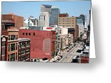 Indianapolis Indiana Greeting Card