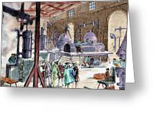 Industrial Revolution Greeting Card