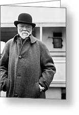 Industrialist Andrew Carnegie Greeting Card