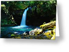 Ironhead Falls Greeting Card