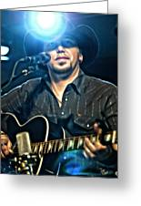 Jason Aldean Greeting Card