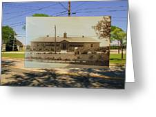Josephine F. Wilbur School In Little Compton Rhode Island Greeting Card