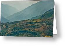 Kalinchok Kathmandu Valley Nepal Greeting Card