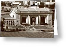 Kansas City - Union Station Greeting Card