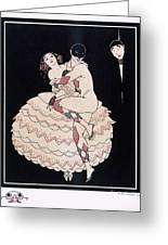 Karsavina Greeting Card by Georges Barbier