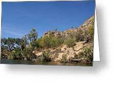 Katherine Gorge Landscapes Greeting Card