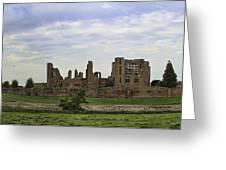 Kenilworth Castle Panorama Greeting Card