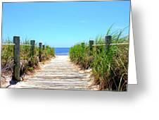 Key West Beach Greeting Card