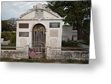 Key West Cemetery Greeting Card