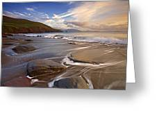 Kinnard Beach Greeting Card