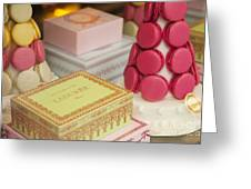 Laduree Sweets Greeting Card