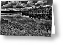 Lake Abanakee In The Adirondacks Greeting Card