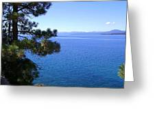 Lake Tahoe 2 Greeting Card