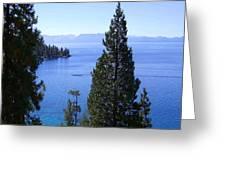 Lake Tahoe 4 Greeting Card