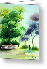 Landscape Greeting Card by Tanmay Singh