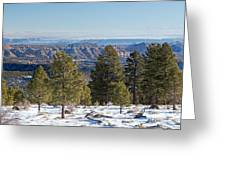 Larb Hollow Overlook Greeting Card