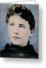 Laura Ingalls Wilder (1867-1957) Greeting Card