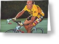 Laurent Fignon  Greeting Card