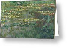 Le Bassin Des Nympheas Greeting Card