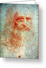 Leonardo Da Vinci (1452-1519) Greeting Card
