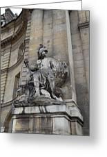 Les Invalides - Paris France - 01137 Greeting Card