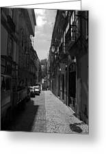 Lisbon Streets Greeting Card