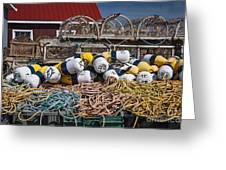 Lobster Fishing Greeting Card by Elena Elisseeva