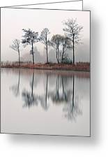 Loch Ard Reflections Greeting Card