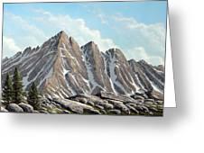 Lofty Peaks Greeting Card