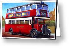 London Transport Stl Greeting Card