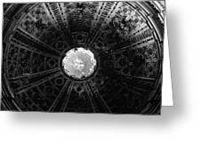 Looking Up Siena Cathedral 2 Greeting Card