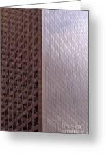 Los Angeles Buildings Greeting Card