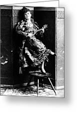 Lotta Crabtree (1847-1924) Greeting Card