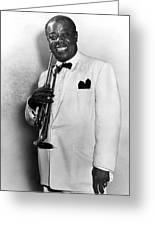 Louis Armstrong (1900-1971) Greeting Card by Granger
