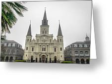 Louis Cathedral Greeting Card