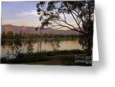 Lower Otay Lake - California Greeting Card