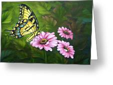 Lunch In The Garden Greeting Card